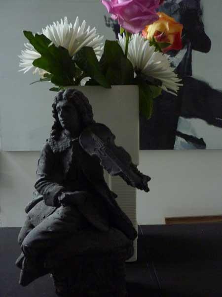 Figurines Modern concrete casts vintage porcelain ceramic